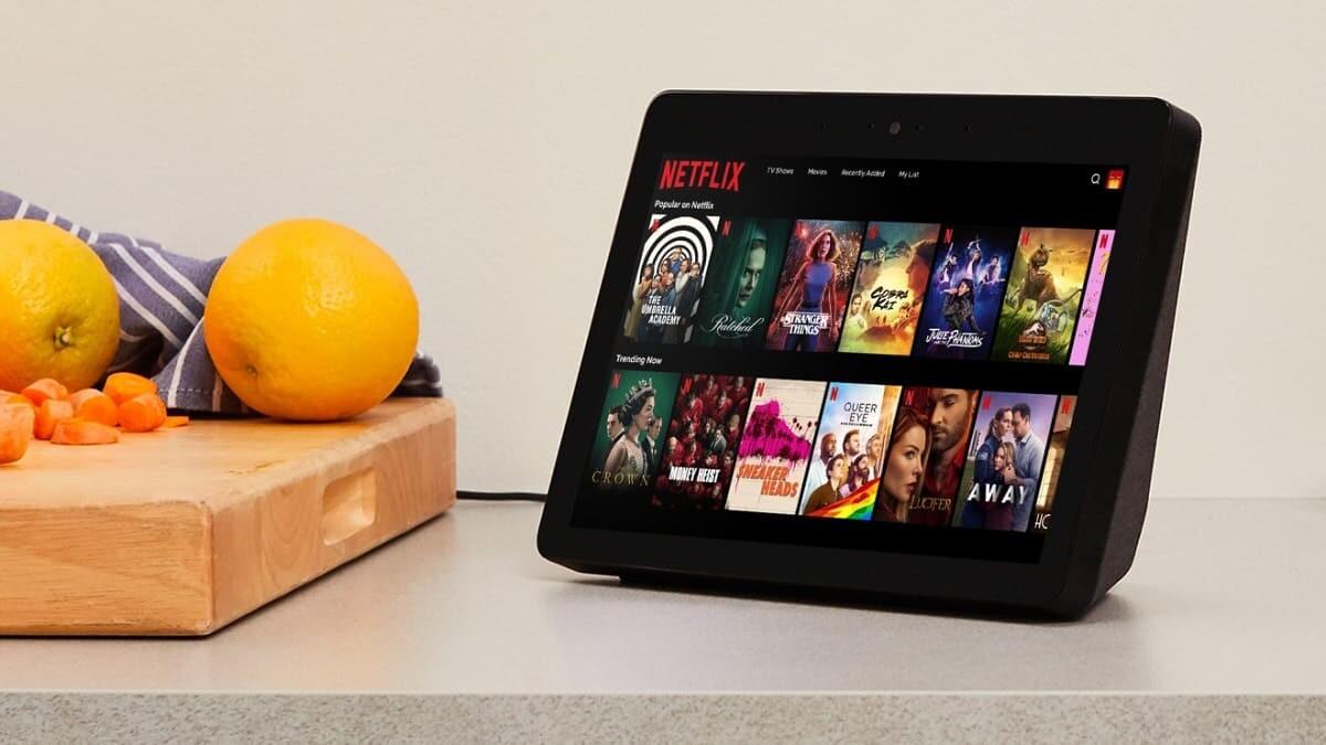 Netflix su Amazon Echo Show anteprima