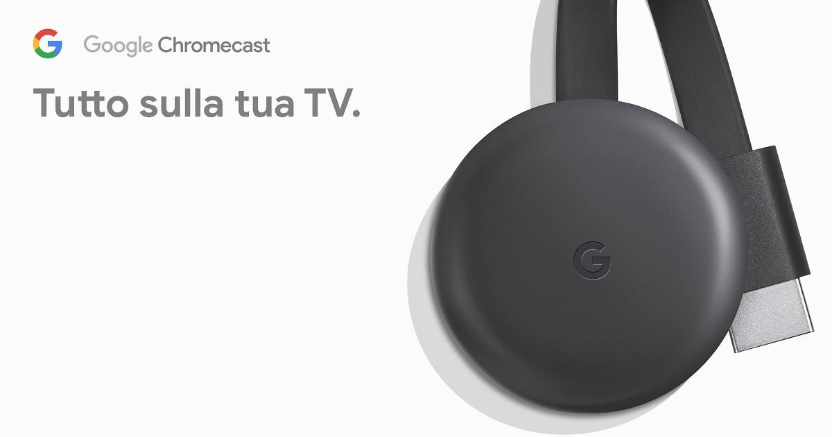 google chromecast anteprima